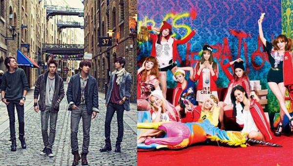 "CNBLUE เผยความคิดของพวกเขาเกี่ยวกับเพลง ""I Got A Boy"" ของ Girls Generation"