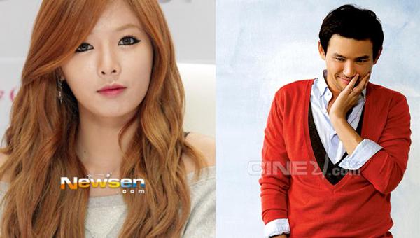 ฮยอนอา 4Minute และนักแสดงฮวางจองมินถูกพบขณะถ่ายทำกับสมาชิก Running Man