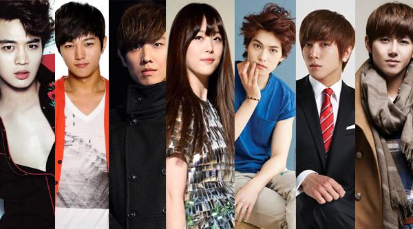 มินโฮ, แอล, อีจุน, ยงฮวา และจงฮยอน ,กวางฮี และซอลลี่ ถูกพบขณะถ่ายทำ Running Man