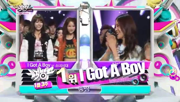 [Live]130118 ผู้ชนะในรายการ Music Bank ได้แก่...SNSD!! + Live วันนี้