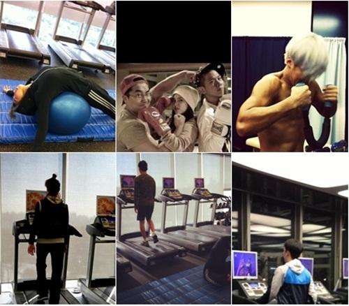 มาดูกันว่าศิลปิน YG Entertainment ออกกำลังกายกันอย่างไรบ้าง