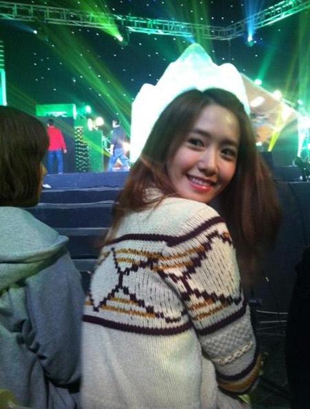 ยุนอา Girls Generation ถูกพบในรายการ 'Gag Concert'
