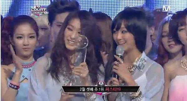 [Live]130221 ผู้ชนะในรายการ M!Countdown ได้แก่...SISTAR19!! + Live วันนี้