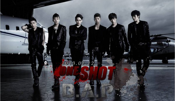 "[Live]B.A.P คัมแบ็คในเพลง ""One Shot + Rainsound"" ในรายการ Music Bank"
