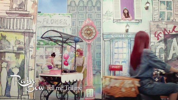 """Rainbow ปล่อย MV ทีเซอร์สำหรับการคัมแบ็คของพวกเธอในเพลง """"Tell Me Tell Me"""""""