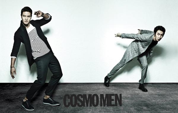 คิมจงกุกและอีกวางซู 'Running Man' แสดงความรักดั่งพี่น้องผ่านการถ่ายภาพและสัมภาษณ์กับ 'Cosmo Men'