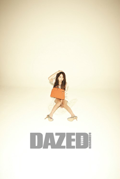 จียองน้องเล็กจาก KARA โชว์สเน่ห์ของเธอผ่านนิตยสาร 'Dazed & Confused'