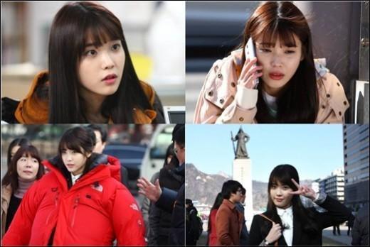ไอยูโชว์ทักษะการแสดงของเธอในฉากร้องไห้จากละครเรื่อง 'You're the Best Lee Soon Shin'