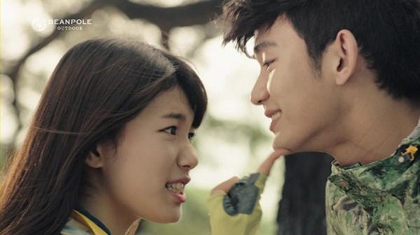 ซูจี miss A และคิมซูฮยอนเคมีเข้ากันป็นอย่างดีสำหรับ CF 'Bean Pole'