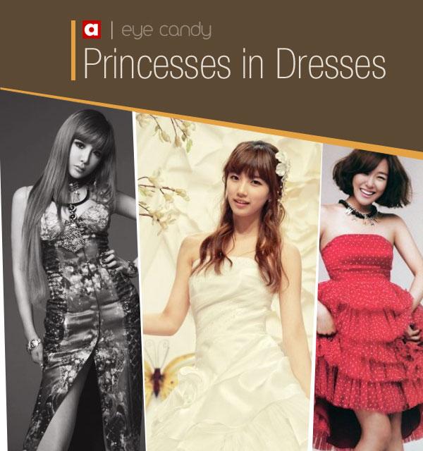 มาดูไอดอลหญิงกับความงามในแบบ Princess in Dresses