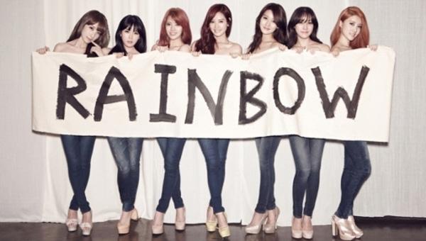 "[Live]Rainbow คัมแบ็คในเพลง ""Golden Touch + Tell Me Tell Me"" ในรายการ Music Bank"