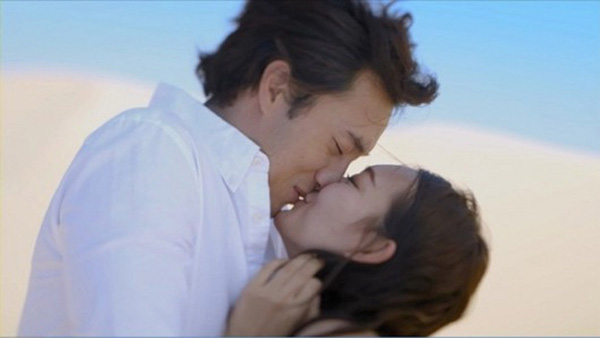 So ji sub - Shin min ah-kiss
