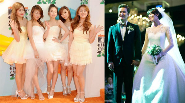 Wonder Girls-Sunye Wedding