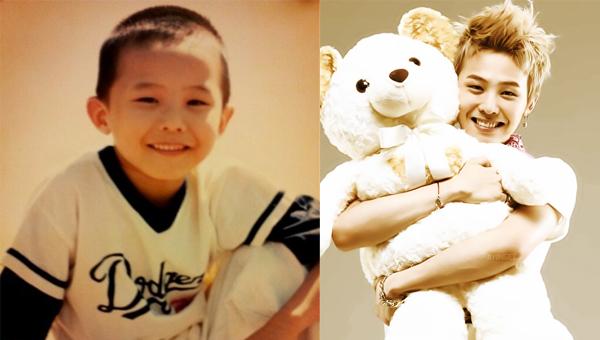 G-Dragon แชร์ภาพน่ารักๆในวัยเด็กของเขา