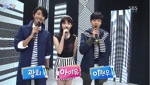 [Live]รวมการแสดงสดในรายการ Inkigayo 24/02/2013 [HD]