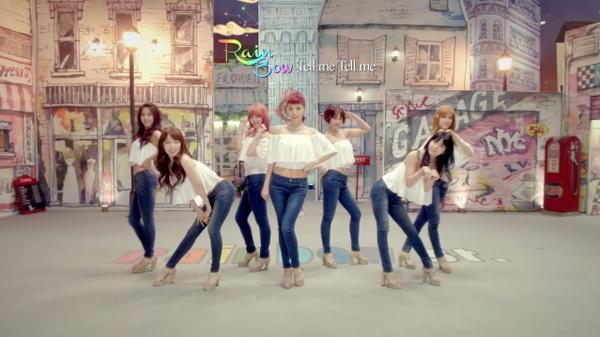 "[Live]Rainbow คัมแบ็คในเพลง ""Tell Me Tell Me"" ในรายการ Music Core"