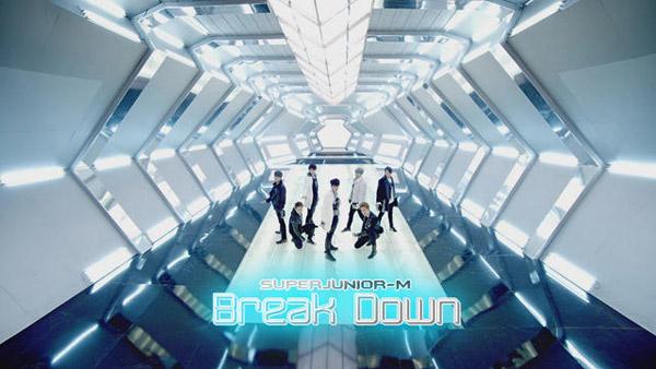 "[Live]Super Junior-M โชว์เพลง ""Break Down"" ในรายการ Music Bank"