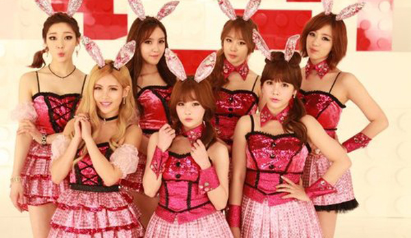 "2T-ARA ปล่อย PV เพลง ""Bunny Style!"" !!"