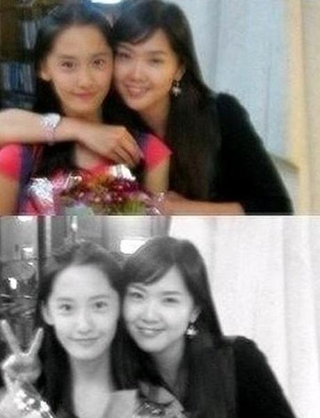 ภาพถ่ายของยุนอา SNSD และพี่สาวของเธอกำลังได้รับความสนใจจากแฟนๆ