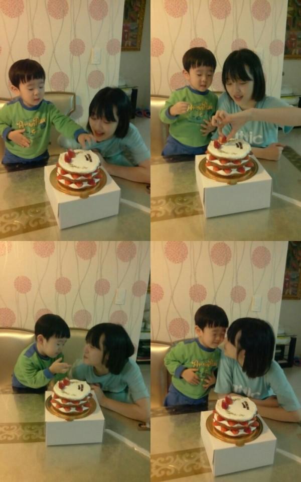 ซอลลี่แชร์ภาพฉลองวันเกิดของเธอกับน้องชายตัวน้อย