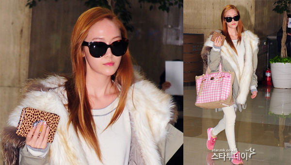 Jessica-SNSD-airport fashion