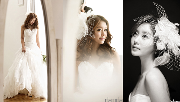 Lee Ji Hyun-wedding dress