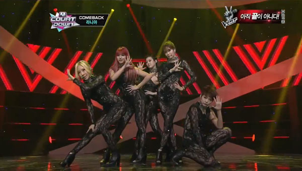 RaNia-Just Go-MCountdown