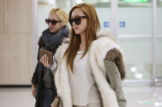 SNSD-Jessica-Airport fashion