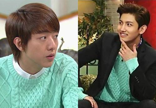 ใครใส่แล้วดูดีกว่ากันระหว่าง : ชางมิน TVXQ กับจองชิน CNBLUE