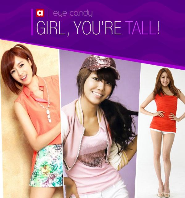 มาดูไอดอลสาวในแบบสวยและตัวสูงกันบ้าง