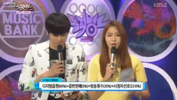 [Live]130315 ผู้ชนะในรายการ Music Bank ได้แก่...SHINee!! + Live วันนี้