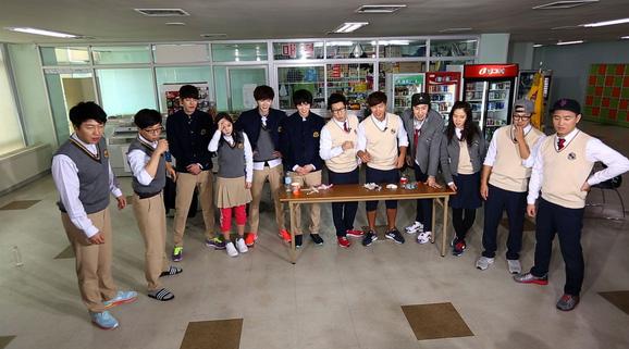 SBS ปล่อยภาพของ จงฮยอน,คิมอูบิน, อีจงซอก,คิมซูโร และมินฮโยริน ในรายการ Running Man ตอนล่าสุด