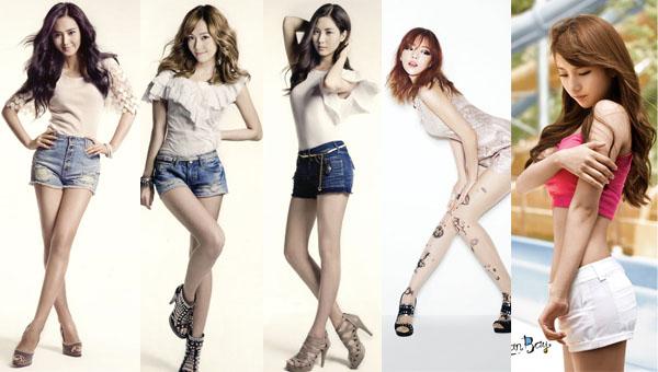 เผยเคล็ดลับการดูแลรูปร่างของยูริ เจสสิก้า ซอฮยอน คูฮาร่า และซูจี!!