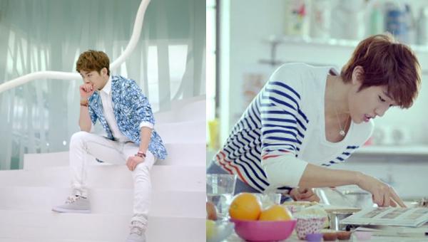 INFINITE เผยทีเซอร์ของโฮย่าและซองยอลในเพลง 'Man In Love'