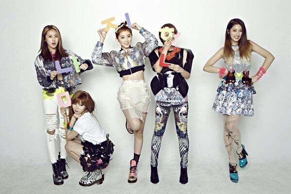 4Minute เผยชื่อเพลงสำหรับการคัมแบ็คของพวกเธอแล้ว!!