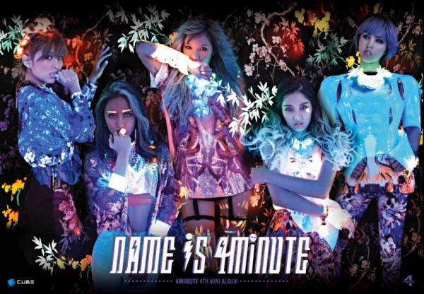 "4Minute ปล่อยทีเซอร์แบบกลุ่มสำหรับ ""What's Your Name"""