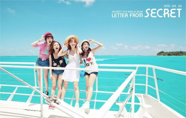 "SECRET ปล่อย MV ""YooHoo"" และมินิอัลบั้ม 'Letter from SECRET' สำหรับการคัมแบ็ค"