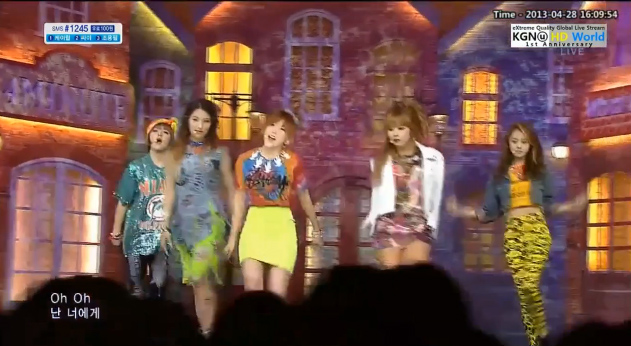 [Live HD] 4Minute คัมแบ็คเพลง Whatever + What's Your Name? บนเวที Inkigayo