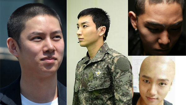 Hee Chul-Lee Teuk-Kang In-Ye Sung-Shave