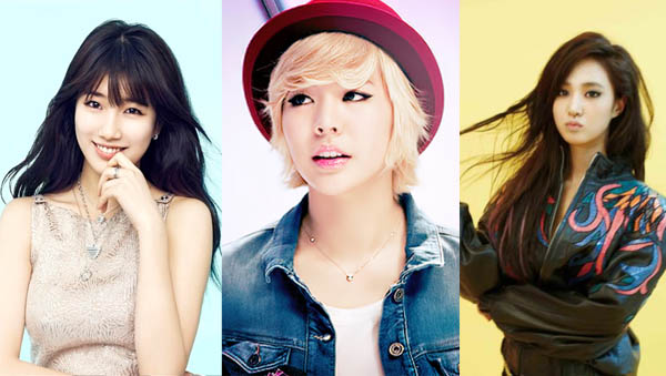 Suzy-Sunny-Yuri-pretty and handsome