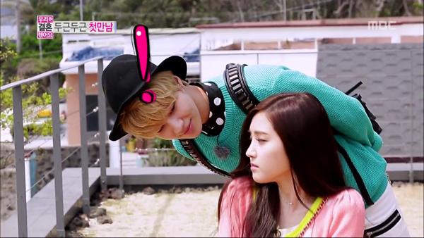 การพบกันครั้งแรกของแทมิน SHINee และนาอึน A Pink ในรายการ 'We Got Married'