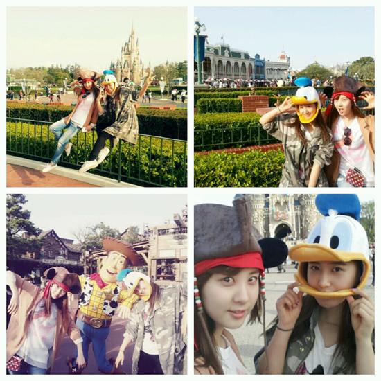 Yuri-Seohyun-Disneyland