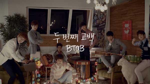 "BTOB ปล่อย MV เพลง ""Second Confession"""