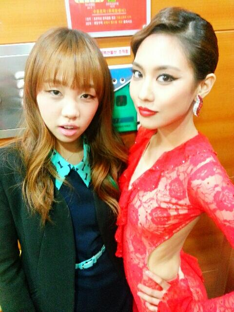 เฟย miss A โชว์รูปร่างสุดเพอร์เฟ็คของเธอในชุดเต้นรุมบ้าสีแดง