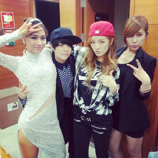 fx amber with fei jia stephanie