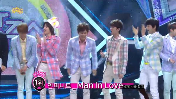 [Live]130420 ผู้ชนะในรายการ Music Core ครั้งแรกได้แก่...INFINITE + การแสดงวันนี้