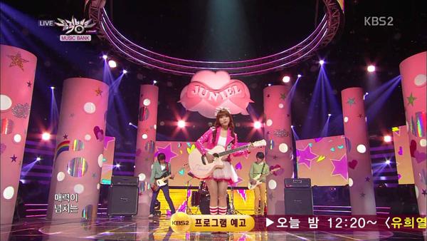 [Live HD] จูเนียลคัมแบ็คเพลง Pretty Boy ในรายการ Music Core 130427