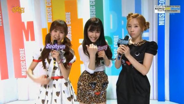 รวมการแสดงในรายการ Music Core 13/4/2013