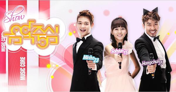 [Live HD]130427 ผู้ชนะในรายการ Music Core ได้แก่...Psy!!!+ การแสดงวันนี้