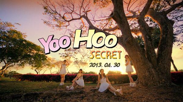 "SECRET ปล่อยภาพทีเซอร์ของซอนฮวาและ MV ทีเซอร์สำหรับเพลง ""YooHoo"""